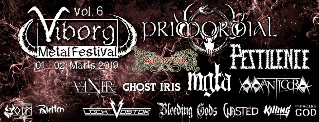 viborg metal festival 2019 lineup paletten viborg