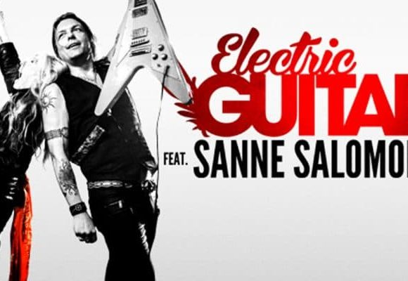 electric guitars sanne salomonsen paletten viborg